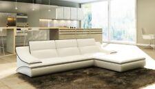 Ecksofa Leder Sofa Couch Polster Eck Sitz Wohnlandschaft Garnitur L Form A1160C