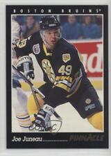 1993-94 Pinnacle #5 Joe Juneau Boston Bruins Hockey Card