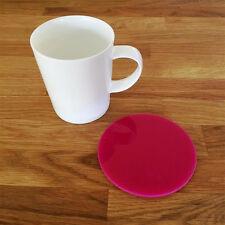 Round Coaster Set - Pink