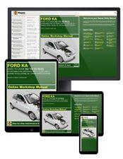 Ford Ka 1.3L Petrol (2003-2008) Haynes Online Manual
