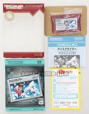 "GBA NINTENDO GAME BOY ADVANCE""FAMICOM MINI ICE CLIMBER""BOXED JAPAN"