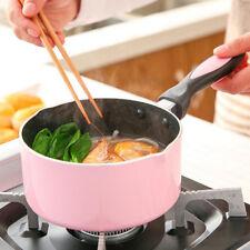 NonStick Aluminium Ceramic Coating Saucepan Milk Pan Soup Kitchen Cookware