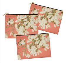 S4Sassy floral lot de 3 sacs à maquillage maquillage-FL-121F