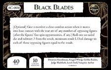 Mage Knight Horror ac-006 Black Blades