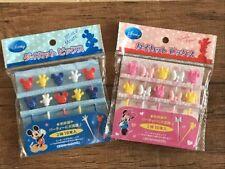 Mickey Minnie Disney  Pick  Food  Picks Mat BENTO Lunch box Accessories