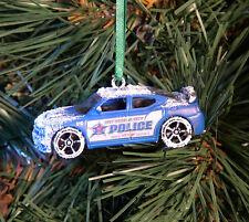 Matchbox & Hot Wheels Police Vehicle Cars & Trucks Custom Made Diecast Ornaments