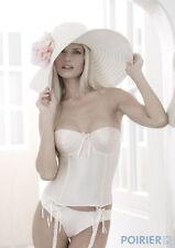 Bjem Bride Ivory Scatter Crystal Basque Corset - Wedding Bridal Lingerie. BBCC