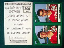 CALCIATORI 1987-88 87-1988 n 309 AREZZO SERIE B - Figurine Panini con velina