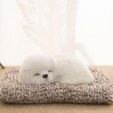 Simulated Toys Ornaments Kids Plush Doll Gift Sleeping Lifelike Dog Lovely Z