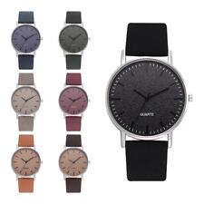 Women Sport Watches Fashion Leather Strap Quartz Analog Casual Wristwatches