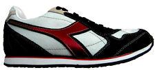 Diadora Scarpe Sneakers Pelle Tessuto Tecnico Shoes Uomo Men Casual Blu-Bianco-R