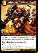 WoW - 4x Der Ring des Blutes: Champion der Totschläger