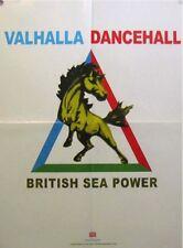 VALHALLA DANCEHALL POSTER, BRITISH SEA POWER (T6)