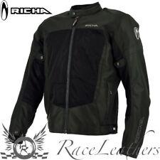 RICHA AIRBENDER BLACK VENTED WARM WEATHER SUMMER MOTORCYCLE MOTORBIKE JACKET