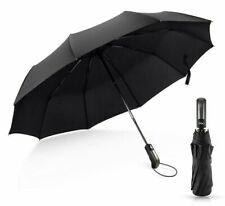 Automatic Umbrella Rain Women Men Big Windproof Parasol Wind Resistant Folding