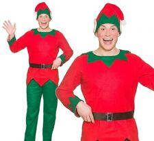 Men/'s ELF Christmas Helper Xmas Party Fancy Dress Costume 26025