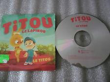CD-TITOU Le Lapinou-Histoire Enfant-Version Karaoké--(CD SINGLE)-2006-2 TRACK