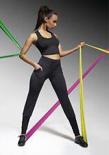 Sport Jersey Leggings Radler Jogging Yoga Fitness Hose Trendy Stretch Aurora