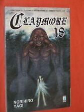 CLAYMORE- N° 18- DI:NORIHIRO YAGI- MANGA STAR COMICS -NUOVO