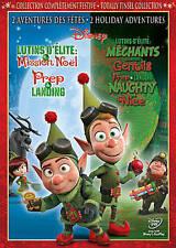 PREP & LANDING/PREP & LANDING: Naughty vs. Nice (DVD 2012) Walt Disney FREE SHIP