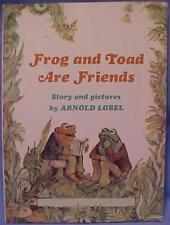 1970 FROG & TOAD ARE FRIENDS ARNOLD LOBEL KIDS BOOKJ132