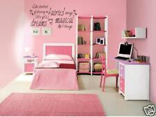 MAGICAL FAIRY DREAMS Girls Bedroom Vinyl Wall Art Decal