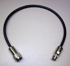 0,5 m Highflexx 7 (50 Ω) konfektioniert mit N-Stecker / BNC-Stecker