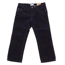 6007R Pantaloni blu bimbo ARMANI JUNIOR velluto a coste trousers pants kids