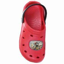 Star Wars Clogs Badeschuhe Sandalen Sandaletten rot  Gr. 28 - 35