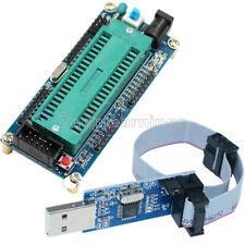 ATmega32 ATMEGA16 Minimum System Board +10Pin USB ISP USBasp Programmer Cable DP