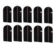 10 Kleidersack Kleiderhülle Schutzhülle Kleider Hülle Kleidersäcke 100 - 150 cm