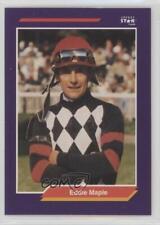 1992 Horse Star Jockey Cards Eddie Maple #155