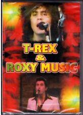 T-REX (5 live  tracks) + ROXY MUSIC (6 live tracks) DVD Nuovo Sigillato