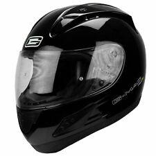 G-mac Piloto Evo Casco Moto Moto - Negro Brillante Dp