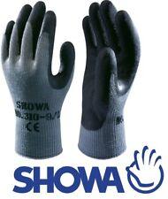 TOPGRIP SHOWA BEST 310 Arbeitshandschuh Latex Handschuh schwarz Garten Gerüstbau