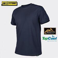 Maglia HELIKON-TEX T-Shirt Tactical Tattica Caccia Softair Militare Outdoor Blu