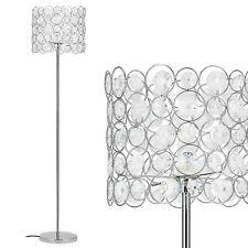 [lux.pro] Kristall Stehleuchte [155cm x Ø34cm] Stehlampe Standleuchte Bodenlampe