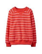 *BNWT* Joules Boys Red Stripe Striped Miller Sweatshirt Sweat Shirt Soft Warm
