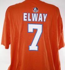 NEW Mens MAJESTIC Denver Broncos NFL Elway #7 Hall of Fame Football Tee T-Shirt