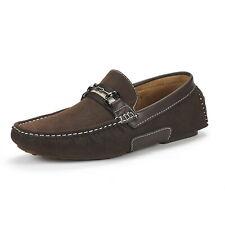 Bruno Marc Men's Santoni-03 Penny Loafers Moccasins Shoes