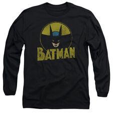 DC CIRCLE BAT T-Shirt Men's Long Sleeve