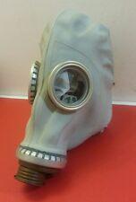 """Russische Gasmaske"""" GP5 """", grau mit Tasche / FETISCH / Karneval - alle Größen !"""