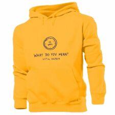 Justin Bieber Mens Womens Design Sweatshirt Hoodie Tops Pullover Hoody Sports