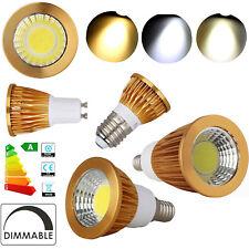Dimmable COB LED Spot Light Bulbs GU10 GU5.3 E12 E26 9W 12W 15W Lamp Bright RD73