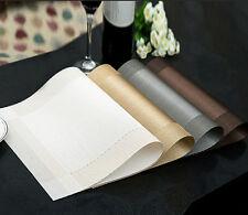 4x Tischmatte Tischset Platzset Platzmatte abwaschbar Platzdeckchen Matte