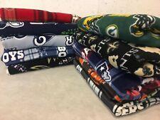 NFL BLANKET Football Teams sports warm Fleece throw soft gift ideas bedding