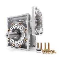 NMRV040 Worm Gear Reducer NEMA34 Ratio 10 15 20 25 30 40 50 100:1 Stepper Motor