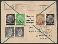 Reich 1944 cover Deutsche Dienstpost Adria  VF