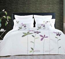 South Garden 5 Piece Embroidered Duvet Cover Set