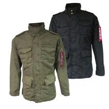 Alpha Industries Para Hombre Chaqueta de campo estilo de Huntington M-65